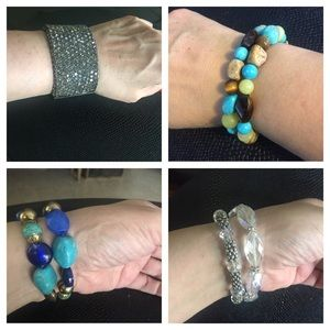 Jewelry - Take them all for $6.00 Different kind bracelets
